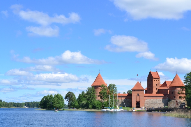 Trakai, a village not far from the capital city of Vilnius